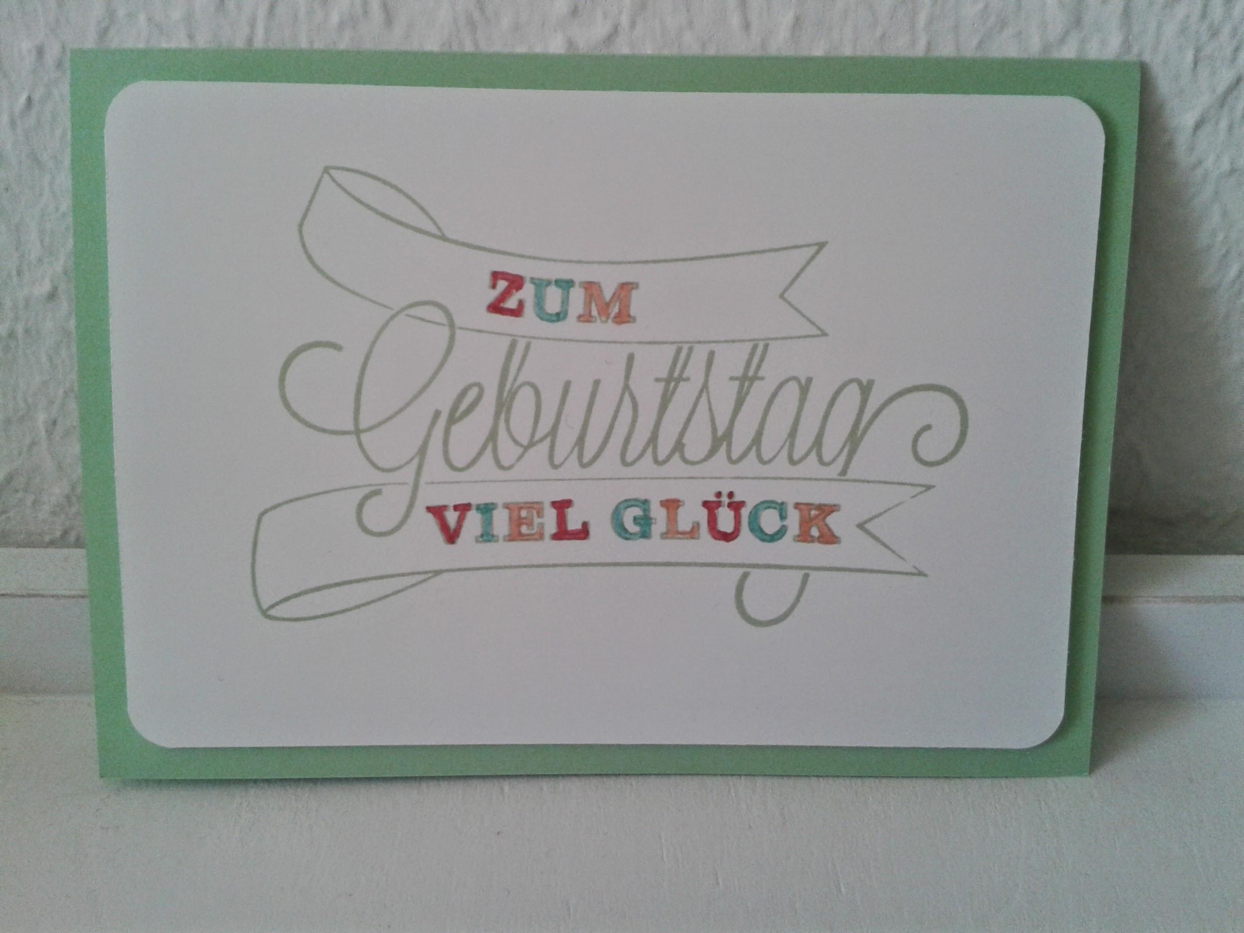 Geburtstagskarten mona bergs for Pinterest geburtstagskarte